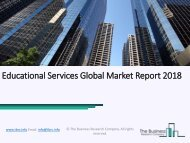 Educational Services Global Marker Report