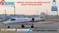 Pick Ultimate Medivic Air Ambulance in Delhi and Bangalore