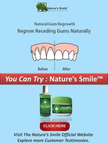 how to Stop Receding Gums