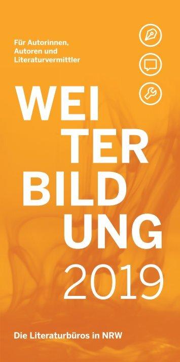 Literaturbuero_Weiterbildung2019