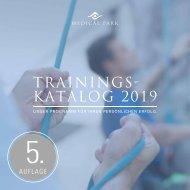 Medical Park Trainingskatalog 2019