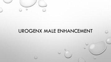 UroGenX Male Enhancement SMM