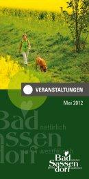 Mai 2012 - Tagungs- und Kongresszentrum Bad Sassendorf