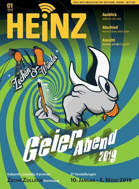 01-2019 HEINZ MAGAZIN Bochum, Herne, Witten