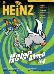 01-2019 HEINZ MAGAZIN Wuppertal, Solingen, Remscheid