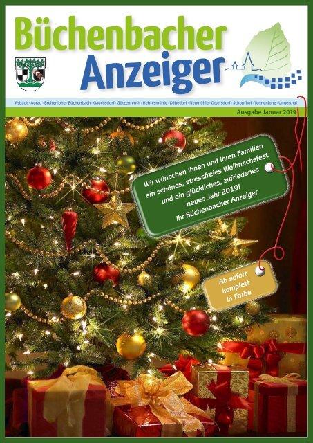 Januar 2019 - Büchenbacher Anzeiger