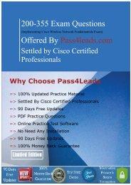 Get Cisco 200-355 Exam Valid Dumps