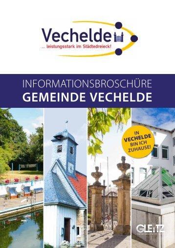 Broschüre der Gemeinde Vechelde 2019
