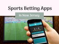Sports Betting Apps in New Jersey