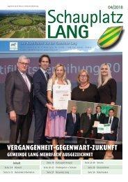 Schauplatz Lang 2018/4