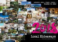 LOCAL HIDEAWAYS: 2018 IN RETROSPECT