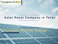 Guide on Solar Panel Installation Service in Texas