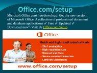 office.com setup