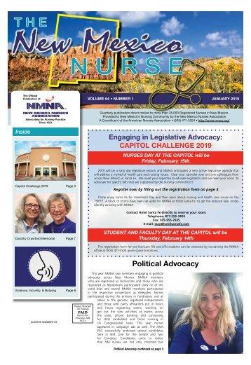 The New Mexico Nurse - January 2019