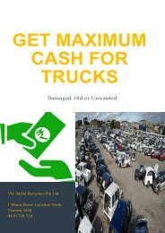 Get Maximum Cash for Trucks That Are Damaged, Old or Unwanted!