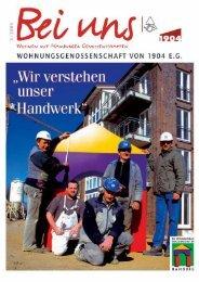1904 Bei uns 3/02 - Wohnungsgenossenschaft von 1904 eG