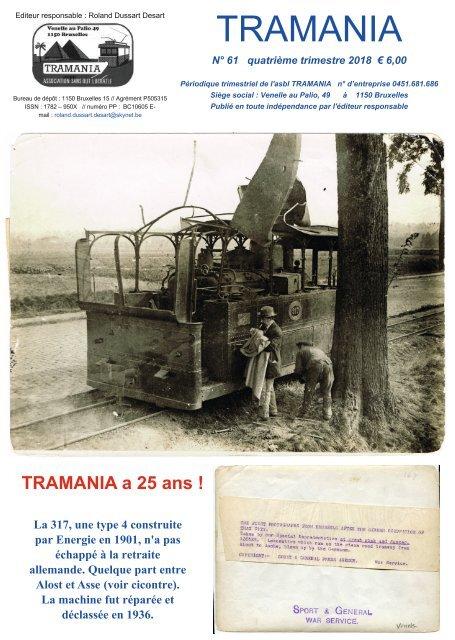 TRAMANIA a 25 ans - tram - tramway