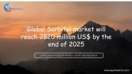 Global Sorbitol market will reach 2820 million US$ by the end of 2025