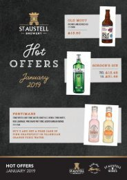 Tenanted Special Offers Brochure 2019 - Jan - Feb