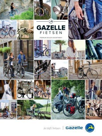 Gazelle brochure elektrische fietsen