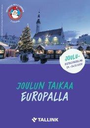 Christmas cruise program Europa (fin)