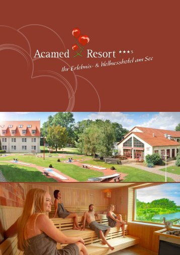Acamed Resort Imagebroschüre 2018