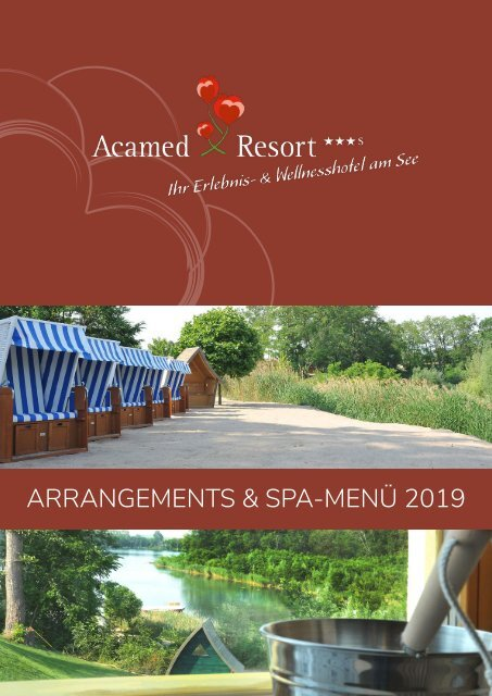Acamed Resort - Arrangement-Broschüre