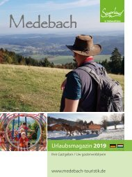 Urlaubsmagazin Medebach 2019