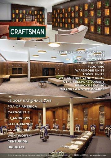 Craftsman - Golf Brochure