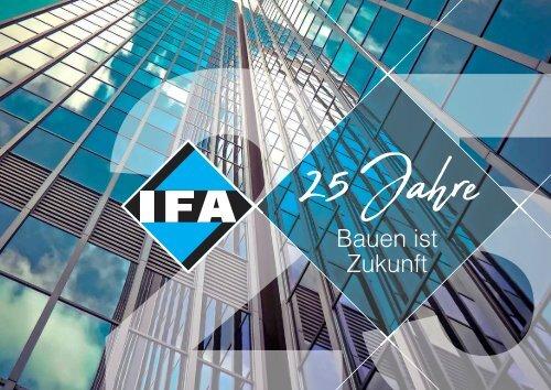 25 Jahre IFA - Jubiläumsbroschüre 2018