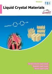 Tokyo Chemical Industries (TCI)  Liquid Crystal Materials Brochure