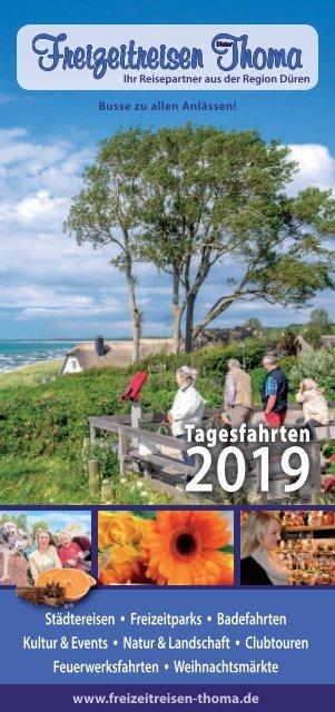 Tagesfahrten Freizeitreisen Thoma Sommer 2019