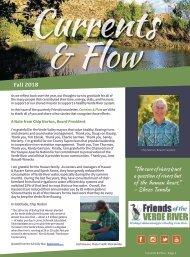 FriendsCurrents & Flow Newsletter FALL 2018
