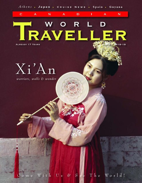 Canadian World Traveller Winter 2018-19 Issue