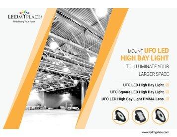 150w Led UFO High Bay Lights Buy Online in USA – Hug Discount