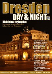 DRESDEN DAY&NIGHT | WINTER 2018