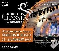 Programm der KurparkClassix als PDF