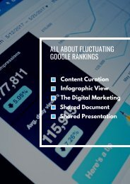 ALL ABOUT FLUCTUATING GOOGLE RANKINGS