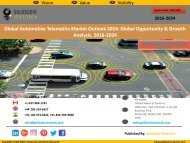 Automotive Telematics Market: Size, Share, Growth Drivers, Trends & Challenges