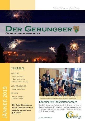Der Gerungser Jänner 2019
