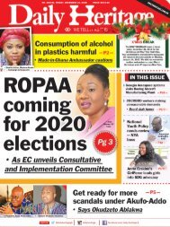 Daily Heritage Newspaper - December 21. New Digital Newspaper