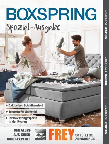Interliving FREY - Boxspring Spezial