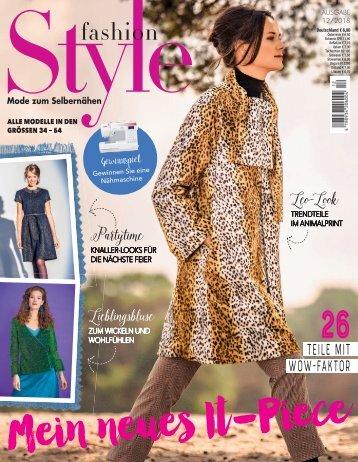 Fashion-Style Nr. 12/2018