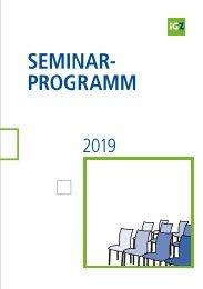 iGZ-Seminarprogramm 2019