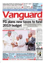21122018 - FG plansn new taxes to fund 2019 budget