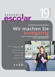 Akademie escolar_Gesamtprogramm 2019 - Jubiläumsausgabe