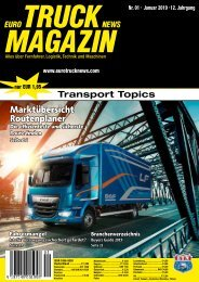 Euro Truck News Digital Nr. 01/2019
