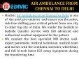 Air Ambulance from Chennai to Delhi - Page 2