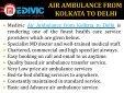 Air Ambulance from Chennai to Delhi - Page 4