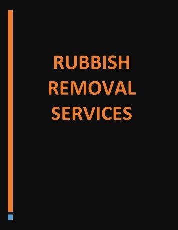 Rubbish Removal Service in Ottawa